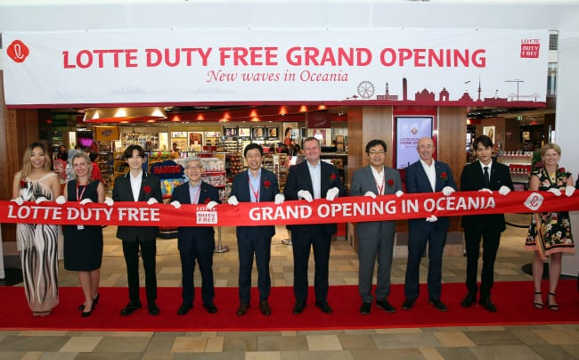 Lotte Duty Free opens first stores in Australia and New Zealand