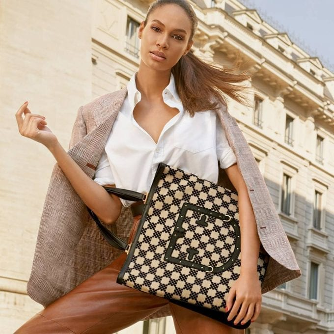 Joan Smalls and friends front Furla Spring 2019 Campaign