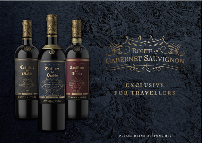 Casillero del Diablo unveils Travel Exclusive 'Route of Cabernet Sauvignon' wines