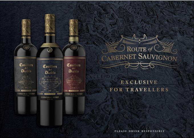 Casillero del Diablo unveils Travel Exclusive 'Route of Cabernet Sauvignon' wines