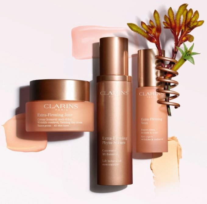 Clarins adds new expert products to Extra-Firming range – launching in duty-free this month