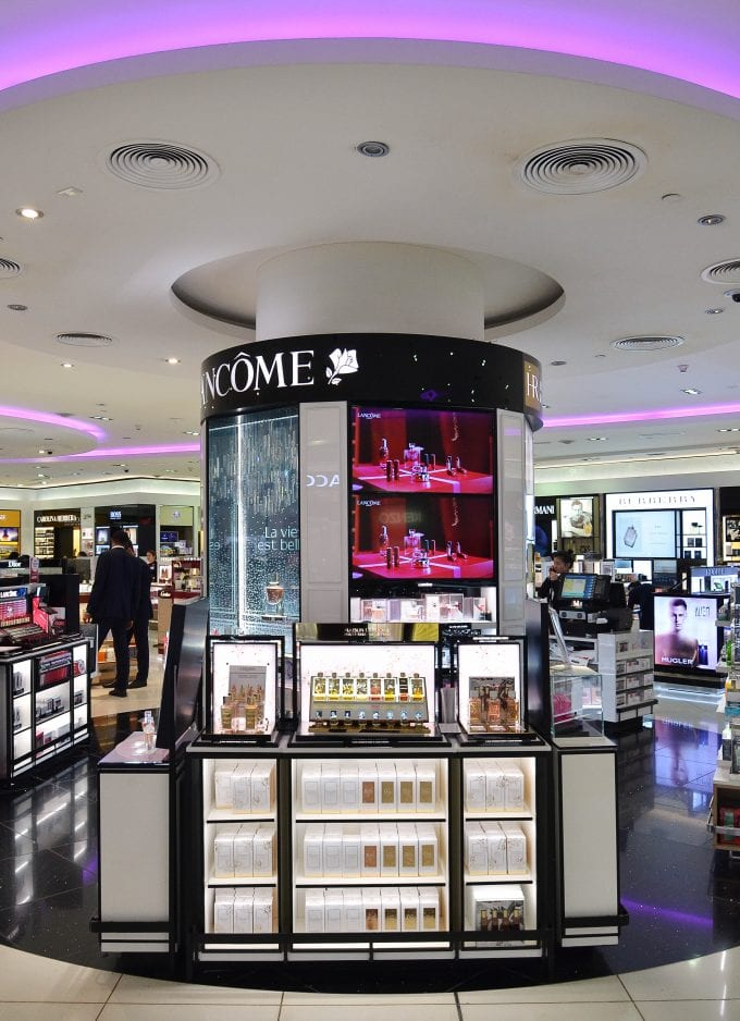 Lancôme's new luxury private collection perfumes, Maison Lancôme, exclusively pre-launch at Dubai Duty Free