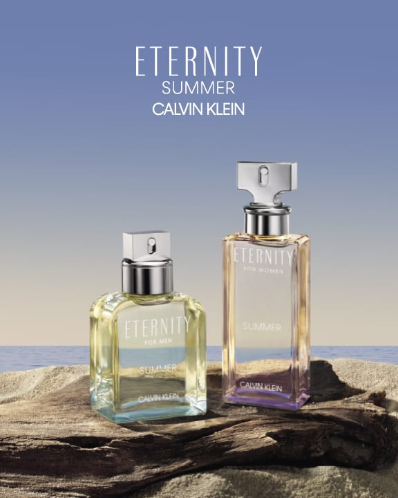 Calvin Klein unveils ETERNITY Summer fragrance duo