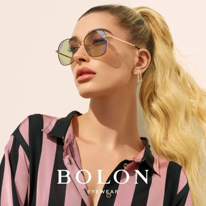 Bolon launches 2019 Eyewear collection with Haliey Bieber