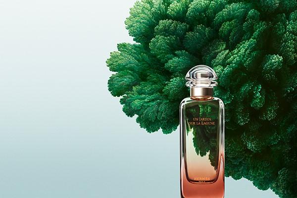 Hermès unveils its new garden perfume: Un Jardin sur la Lagune
