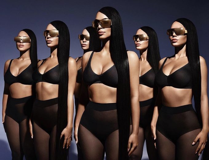 Kim Kardashian West parades new Carolina Lemke Sunglasses collection