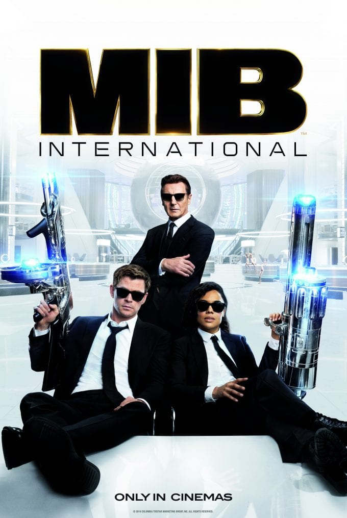 Police Sunglasses are the real stars of the new 'Men in Black: International' blockbuster movie