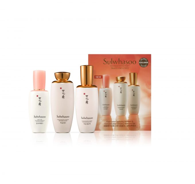 Sulwhasoo launches limited-edition Ginseng Skincare Set exclusively at The Shilla Duty Free.