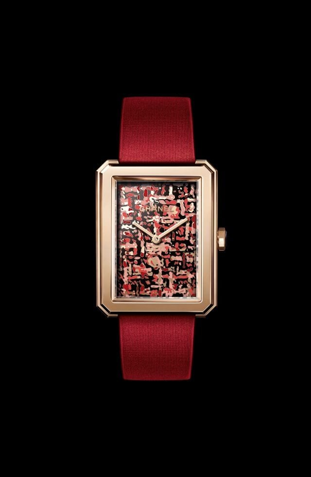 Tweed Art: Chanel dresses up its Boy∙Friend watch with limited edition Tweed dial