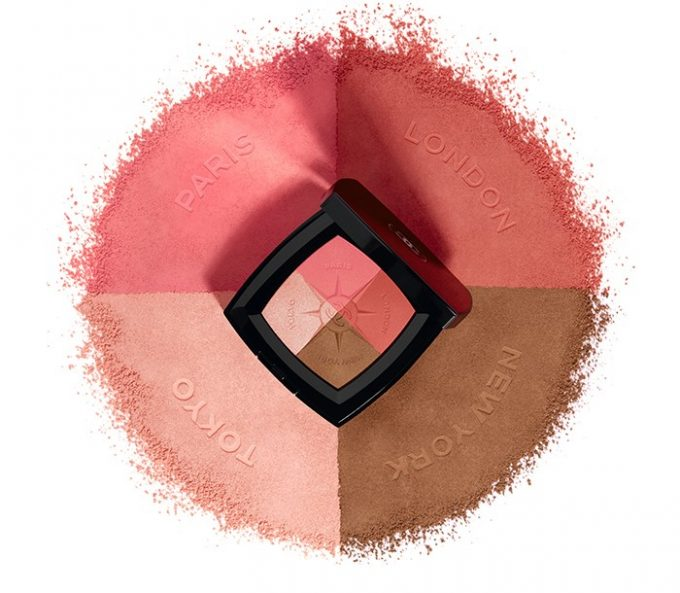 CHANEL debuts Voyage de Chanel – Four cities, four inspirations, four shades of blush