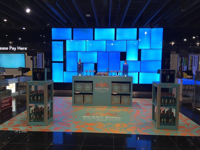 The legend of Silent Pool Gin comes to life at London Heathrow