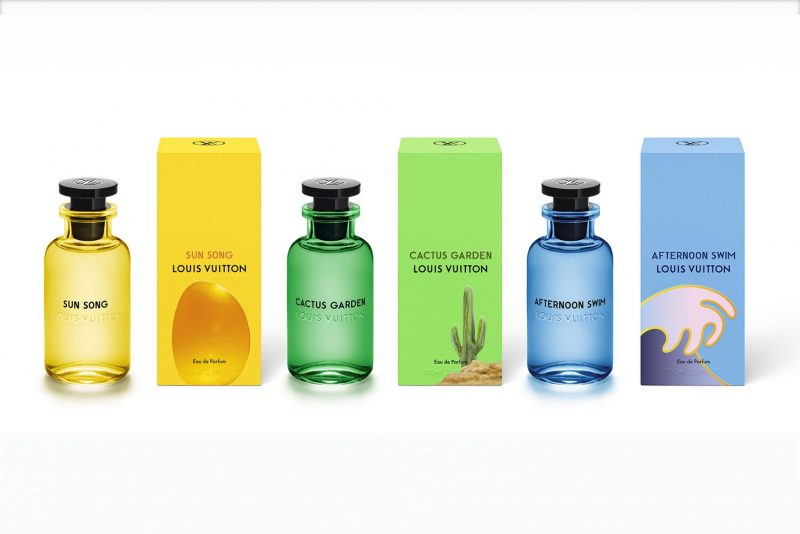California Dreaming Louis Vuittons Fresh New Fragrances Duty
