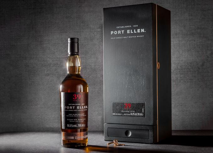 Port Ellen, the silent distillery of Islay, releases Untold Stories Series