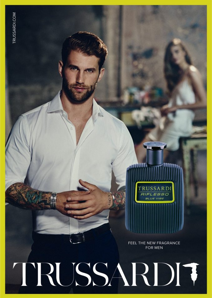 Break Free from the routine: Trussardi launches dynamic new men's fragrance Riflesso Blue Vibe
