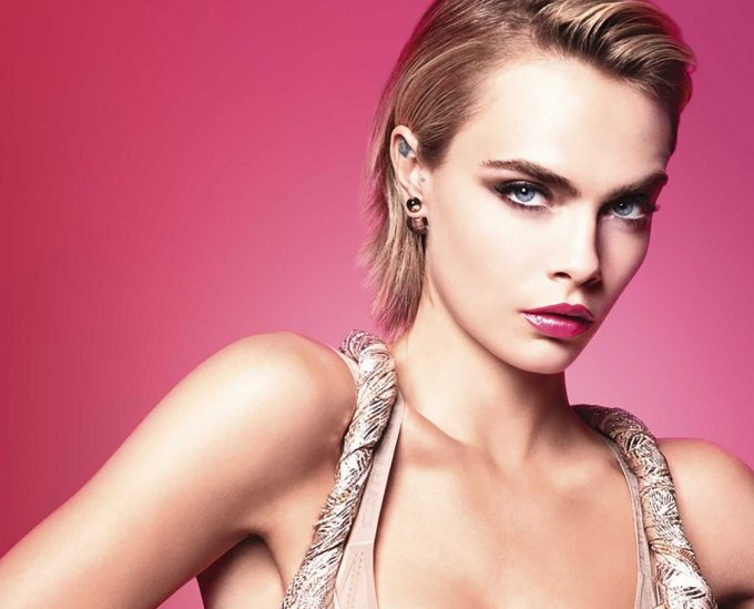 Cara Delevingne obsesses over pink in new Dior Addict lipstick campaign