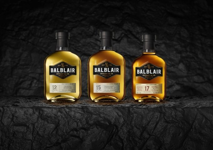 Balblair Highland Malt debuts stylish Travel Collection whiskies with Dufry