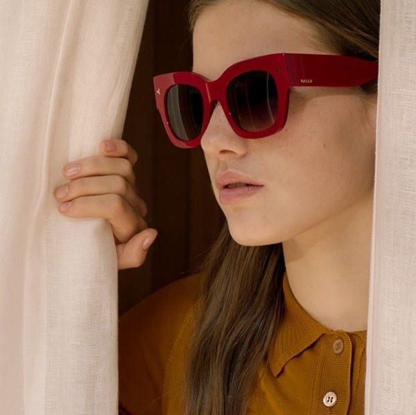 Sunglasses arrive in the world of BALLY