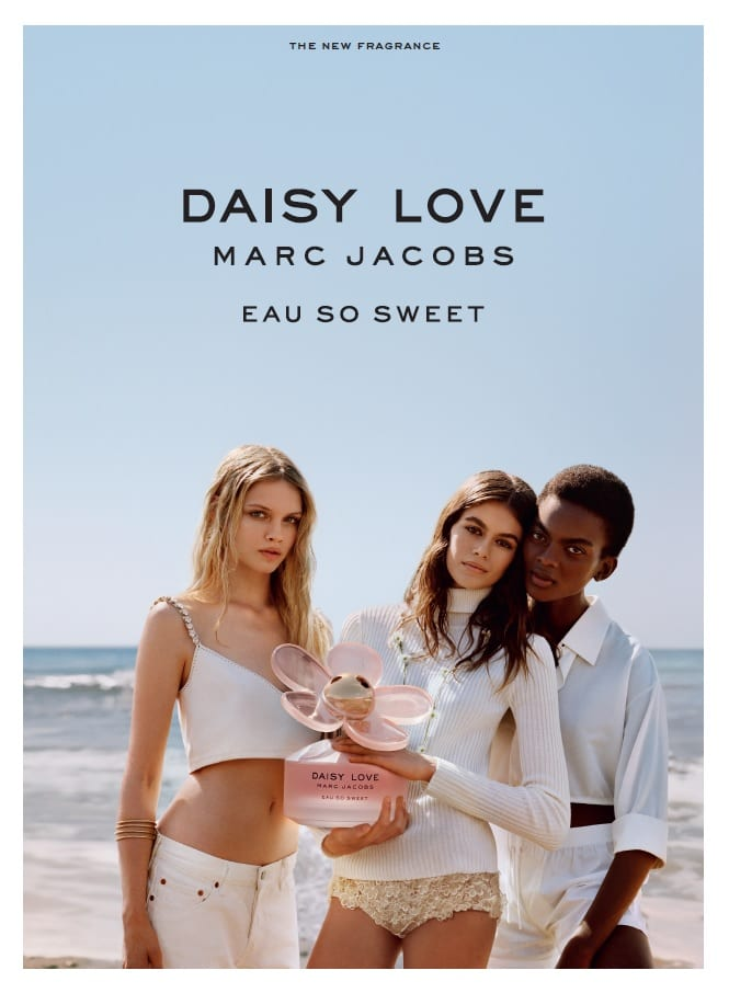 Marc Jacobs launches Daisy Love Eau So Sweet with Kaia Gerber