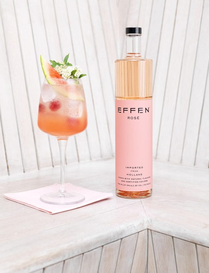 EFFEN Vodka debuts Rosé and Yuzu Citrus flavoured editions