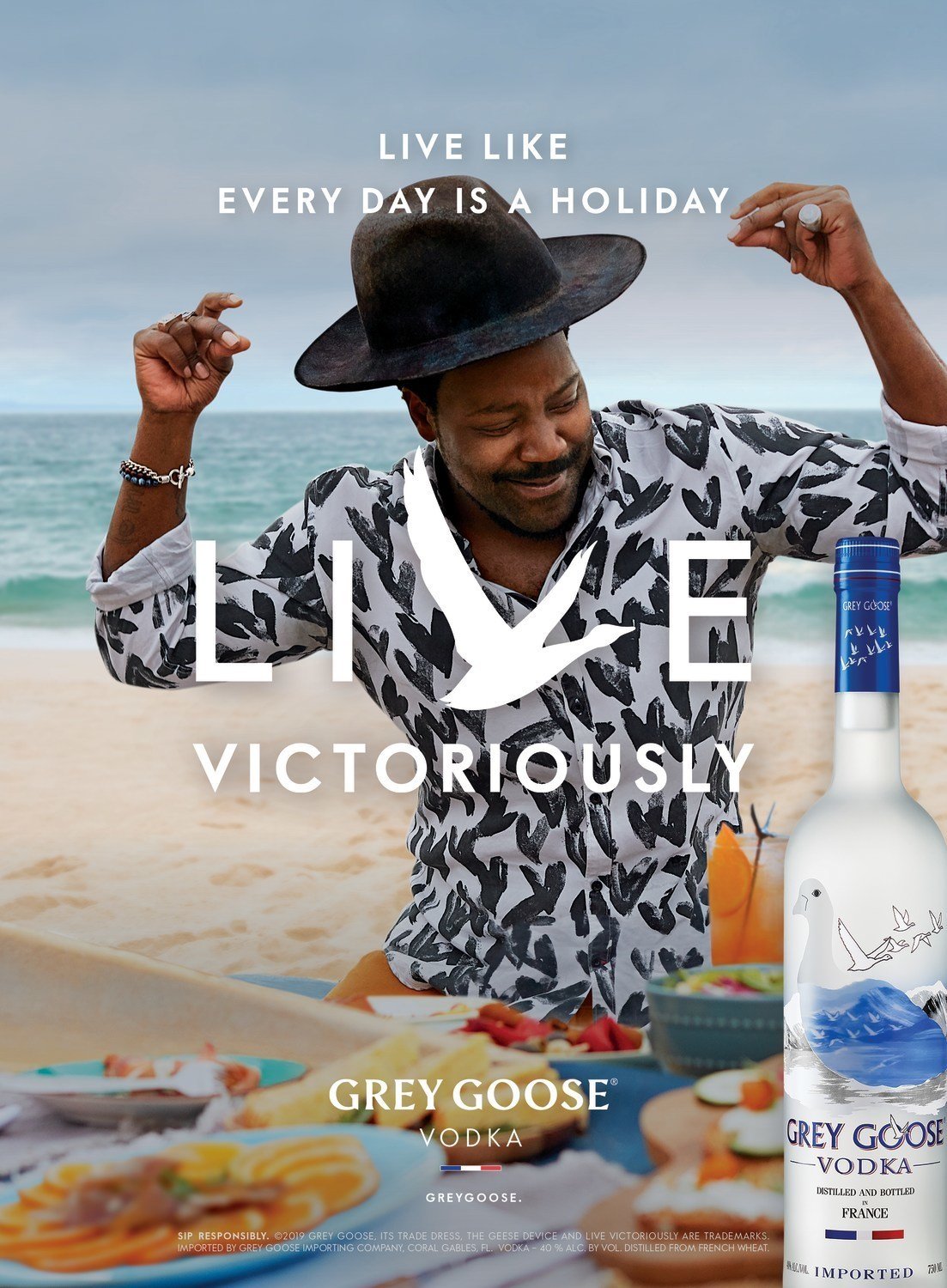 GREY GOOSE unleashes 'Live Victoriously' global campaign
