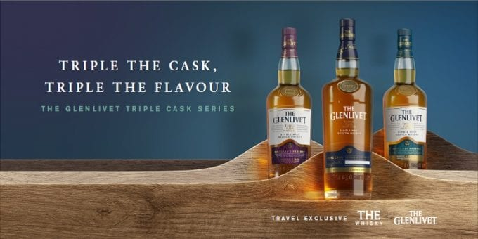 The Glenlivet launches new Triple Cask Series exclusive to duty-free stores