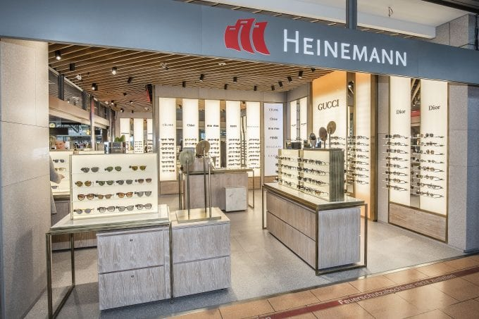 Heinemann adds style to shopping at Hamburg Airport