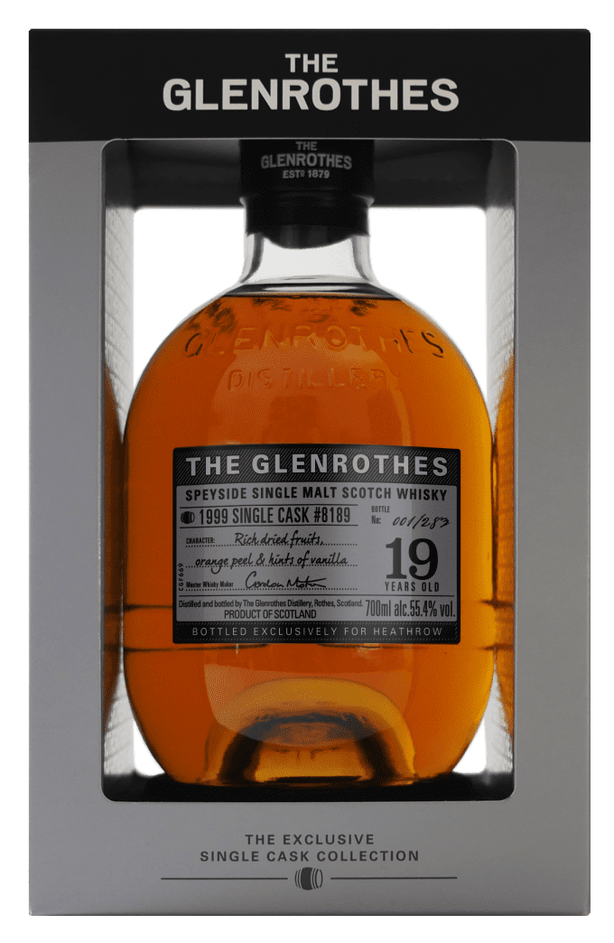 The Glenrothes unveils Exclusive Single Cask bottling for World Duty Free at Heathrow