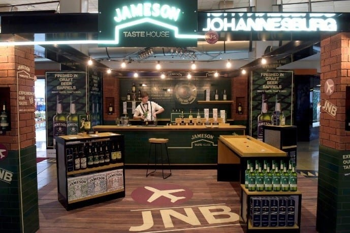 Calling all Irish Whisky fans - the Jameson TasteHouse has arrived in airports