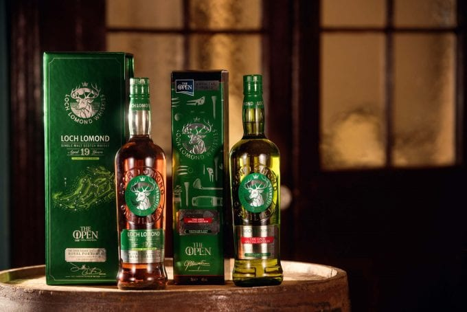 Loch Lomond Whiskies tees off new golfing special editions