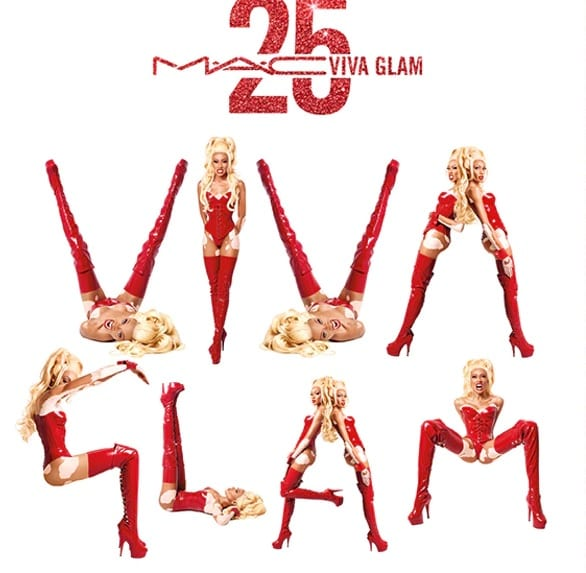 M.A.C.'s Viva Glam Lipstick celebrates its 25th Anniversary
