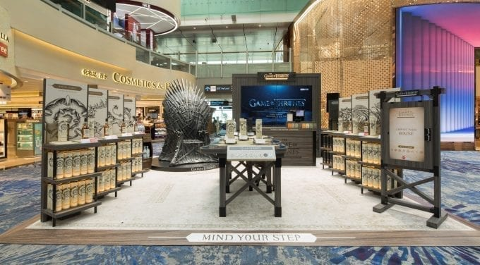 Game of Thrones brings a taste of battle to Singapore Changi