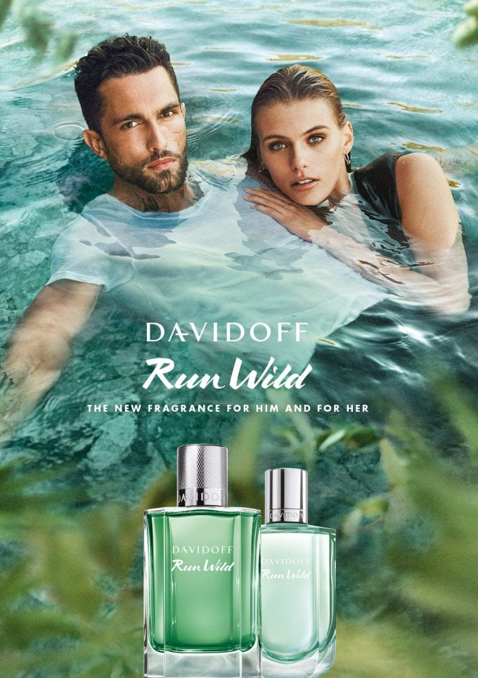 Ready to Break Free? Davidoff debuts Run Wild fragrances for him and her