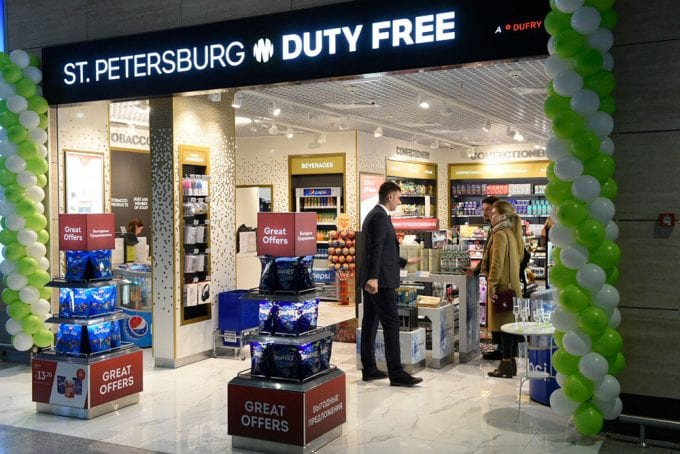 Dufry opens new Arrivals Duty Free store at Pulkovo St. Petersburg Airport