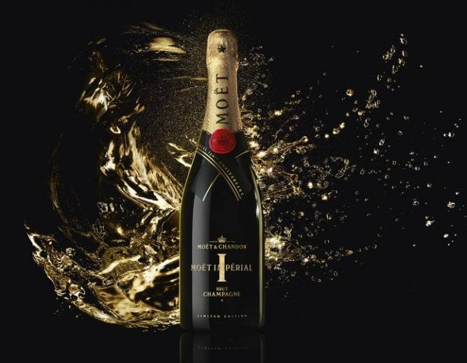 Moët & Chandon celebrates 150th anniversary of its iconic brut champagne with limited-edition bottle