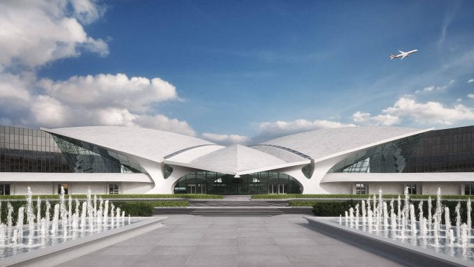 Louis Vuitton to check-in at JFK Airport's TWA Flight Center