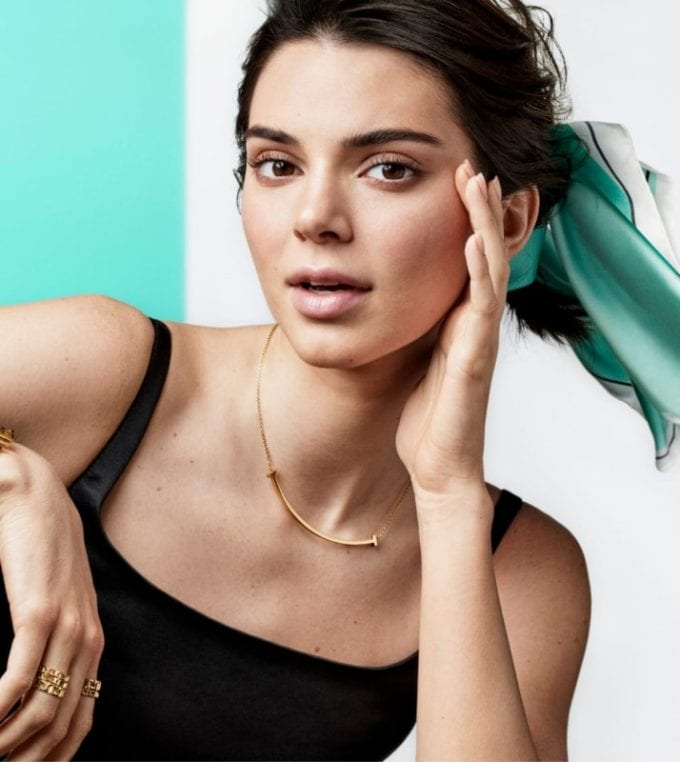 Kendall Jenner is the star of Tiffany & Co.'s Spring campaign