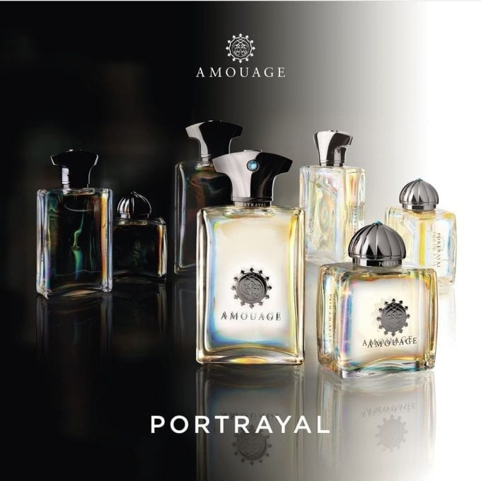 Amouage launches Portrayal fragrances at World Duty Free