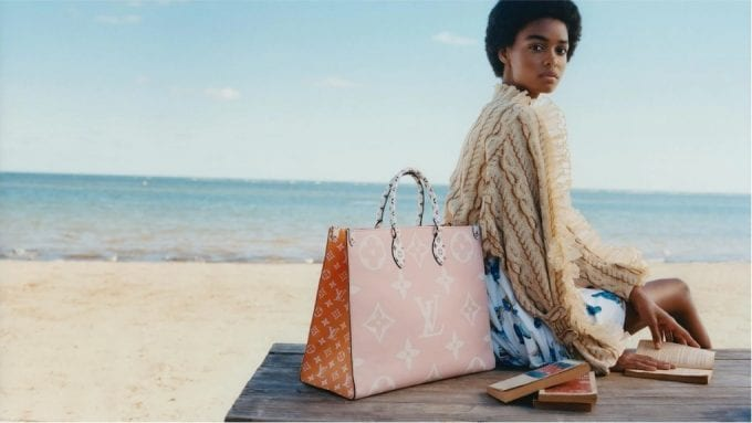 Louis Vuitton gives its monogram a GIANT twist for Summer