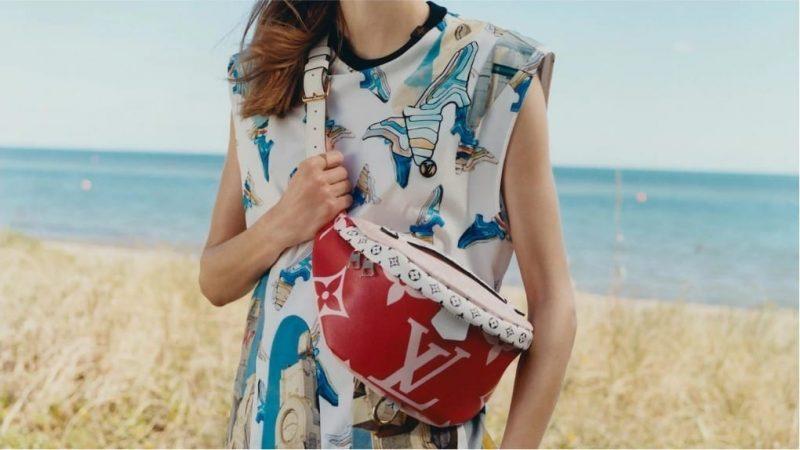 3ba3d4b4 Louis Vuitton gives its monogram a GIANT twist for Summer - Duty ...