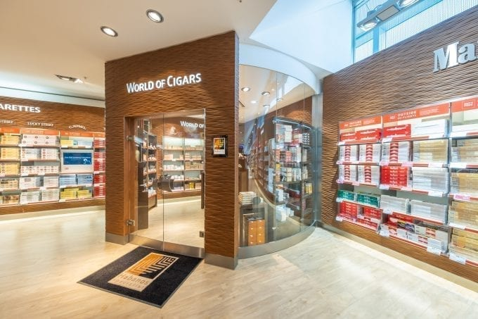 "Frankfurt Airport's Heinemann Duty Free is now a certified ""Habanos Specialist"""