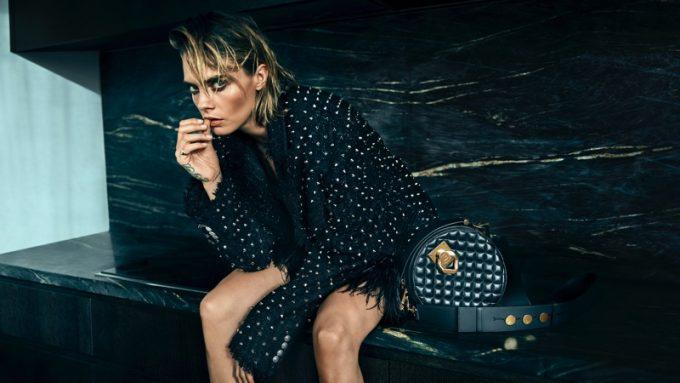 Balmain reveals Cara Delevingne's hardcore handbags
