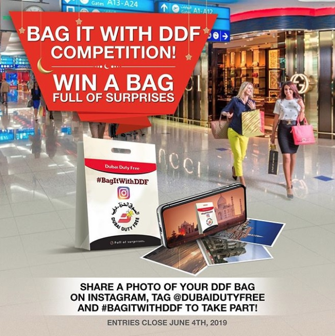 Dubai Duty Free's #BagItWithDDF competition is back!