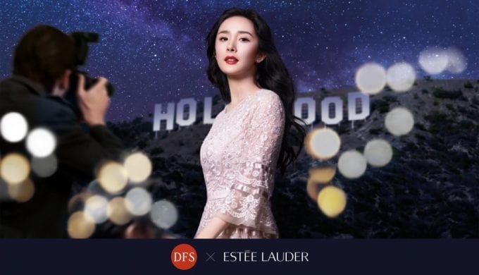 Estée Lauder x DFS deliver #PicturePerfect moments with Yang Mi
