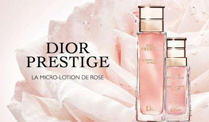 Dior debuts La Micro-Lotion de Rose, its new Prestige skincare ritual