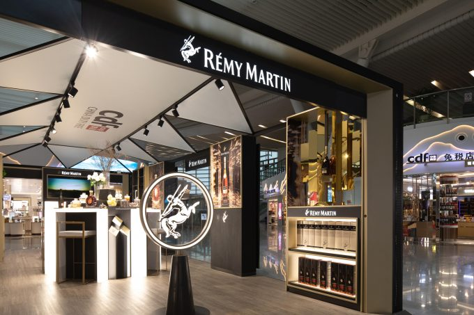 Rémy Martin pops-up in style at Hangzhou Xiaoshan Airport