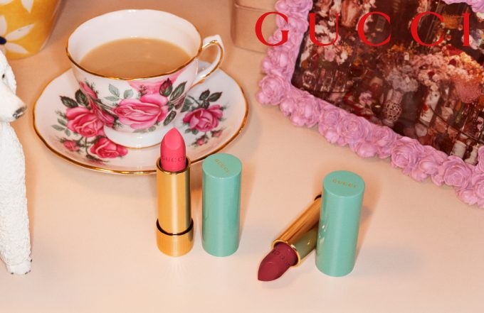 Gucci begins its new beauty story from the lips