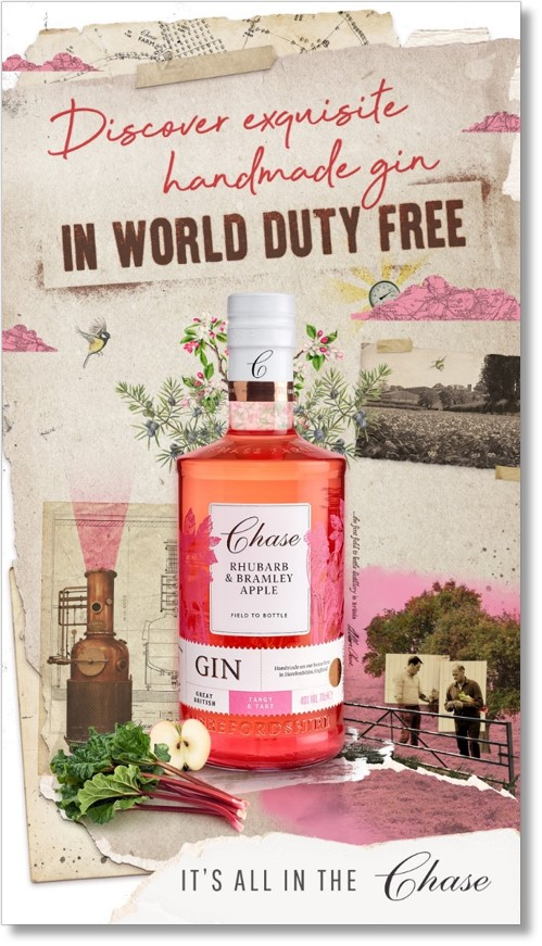 Chase Distillery goes all in at London Heathrow