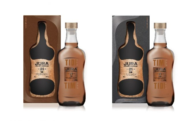 Jura unveils 'Time & Tide' whisky collection for duty-free