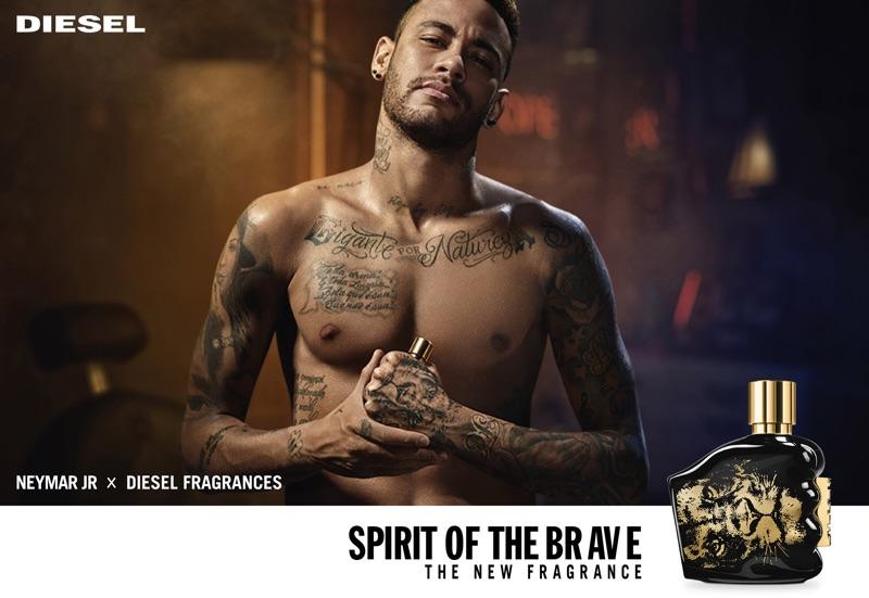 Neymar Jr. x Diesel launch Spirit of the Brave fragrance