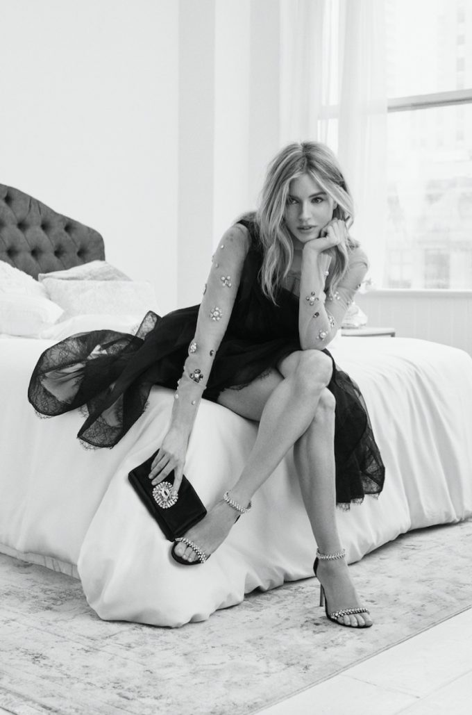 Sienna Miller stars as the new face of Jimmy Choo